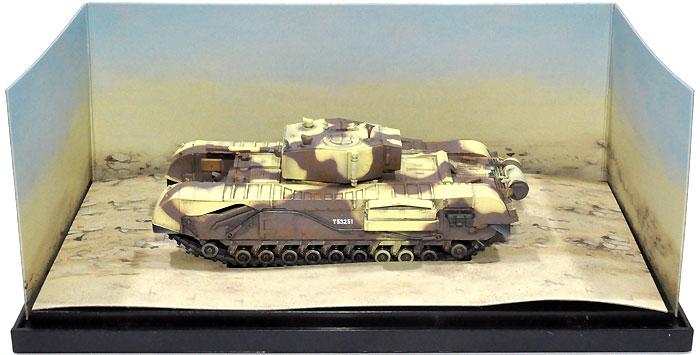 イギリス チャーチル歩兵戦車 Mk.3 チュニジア 1943 (パノラアーマーBOX)完成品(ドラゴン1/72 ドラゴンアーマーシリーズNo.60687)商品画像_1