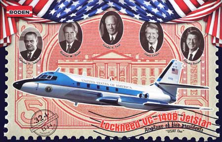 ロッキード VC-140B ジェットスター 大統領用専用機プラモデル(ローデン1/144 エアクラフトNo.324)商品画像