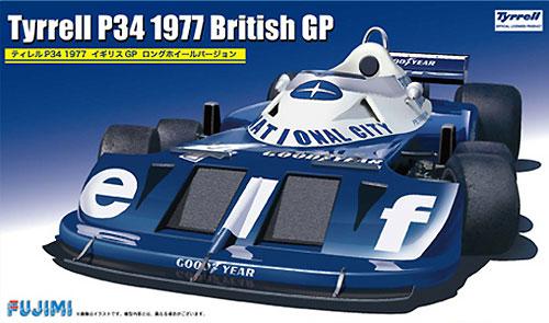ティレル P34 1977 イギリスGP ロングホイールバージョンプラモデル(フジミ1/20 GPシリーズNo.GP059)商品画像
