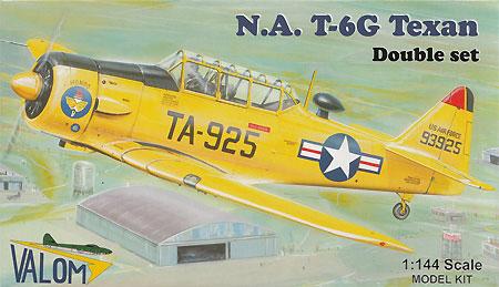 T-6G テキサンプラモデル(バロムモデル1/144 エアクラフトNo.14408)商品画像