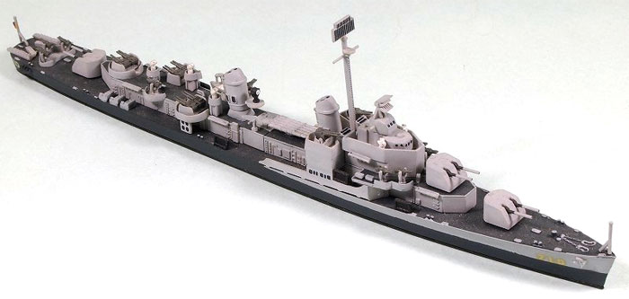 米国海軍 駆逐艦 DD-710 ギアリングプラモデル(ピットロード1/700 スカイウェーブ W シリーズNo.W032)商品画像_2