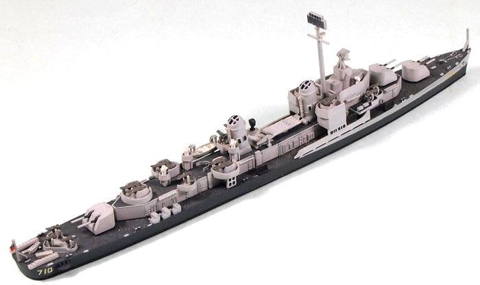 米国海軍 駆逐艦 DD-710 ギアリングプラモデル(ピットロード1/700 スカイウェーブ W シリーズNo.W032)商品画像_4