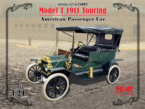 T型 フォード 1910 ツーリングプラモデル(ICM1/24 カーモデルNo.24002)商品画像