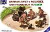 イギリス QF 6ポンド対戦車砲 w/英砲兵
