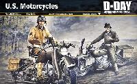 イタレリ1/35 ミリタリーシリーズアメリカ 軍用オートバイセット