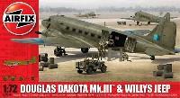 エアフィックス1/72 ミリタリーエアクラフトダグラス ダコタ Mk.3 & ウィリス ジープ