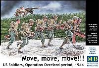マスターボックス1/35 ミリタリーミニチュアアメリカ軍兵士 オーバーロード作戦 1944
