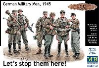 マスターボックス1/35 ミリタリーミニチュアドイツ 戦闘兵士 1945