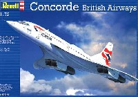 レベル1/72 飛行機コンコルド (英国航空)