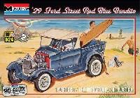 レベル/モノグラムカーモデル'29 フォード ストリートロッド ブルーバンディット