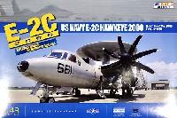 キネティック1/48 エアクラフト プラモデルE-2C ホークアイ 2000 (アメリカ海軍)