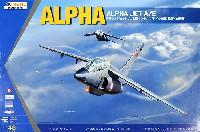 キネティック1/48 エアクラフト プラモデルアルファジェット A/E型 (フランス/ドイツ空軍 練習・攻撃機)