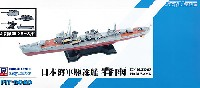 ピットロード1/700 スカイウェーブ W シリーズ日本海軍 白露型駆逐艦 春雨 (新装備付)