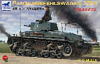 ブロンコモデル1/35 AFVモデルドイツ シュコダ Pz.BefWg 35(t) 指揮戦車