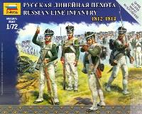 ズベズダART OF TACTICロシア 戦列歩兵 1812-1814