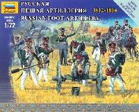 ズベズダART OF TACTIC中世のロシア砲兵 1812-1814
