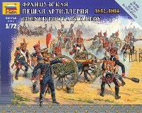 ズベズダART OF TACTIC中世のフランス砲兵 1812-1814