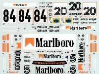 タブデザイン1/24 デカールBMW M1 #5/#20/#84 1979-1980