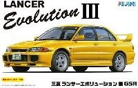 フジミ1/24 インチアップシリーズ三菱 ランサー エボリューション 3 GSR