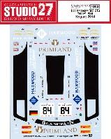 スタジオ27ツーリングカー/GTカー オリジナルデカールメルセデス SLS GT3 HTP #84 ノガロ 2014