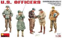 ミニアート1/35 WW2 ミリタリーミニチュアアメリカ軍将校