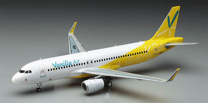 バニラエア エアバス A320プラモデル(ハセガワ1/200 飛行機シリーズNo.043)商品画像_3