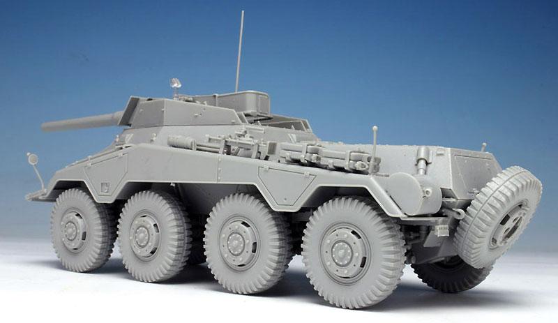 Sd.Kfz.234/4 7.5cm L/48 8輪重装甲偵察車プラモデル(ドラゴン1/35 '39-'45 SeriesNo.6814)商品画像_3