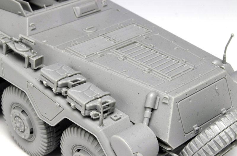 Sd.Kfz.234/4 7.5cm L/48 8輪重装甲偵察車プラモデル(ドラゴン1/35 '39-'45 SeriesNo.6814)商品画像_4