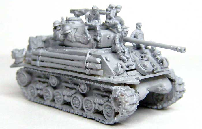 M4A2E8 シャーマン スクリーンイメージ バージョンレジン(マツオカステン1/144 オリジナルレジンキャストキット (AFV)No.MTUAFV-077)商品画像_1