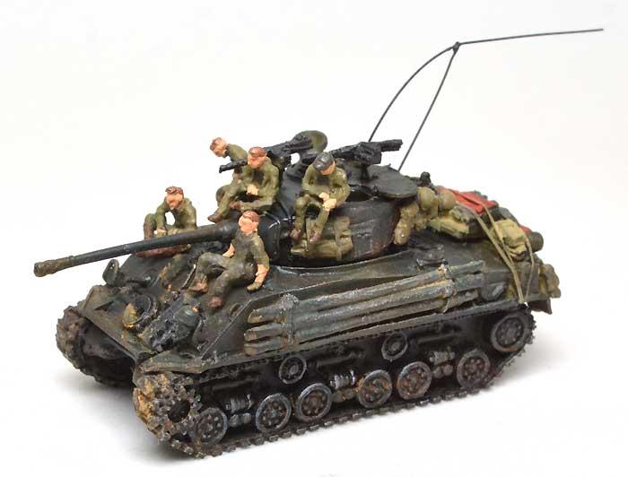 M4A2E8 シャーマン スクリーンイメージ バージョンレジン(マツオカステン1/144 オリジナルレジンキャストキット (AFV)No.MTUAFV-077)商品画像_2