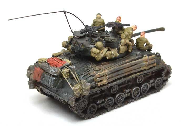 M4A2E8 シャーマン スクリーンイメージ バージョンレジン(マツオカステン1/144 オリジナルレジンキャストキット (AFV)No.MTUAFV-077)商品画像_3