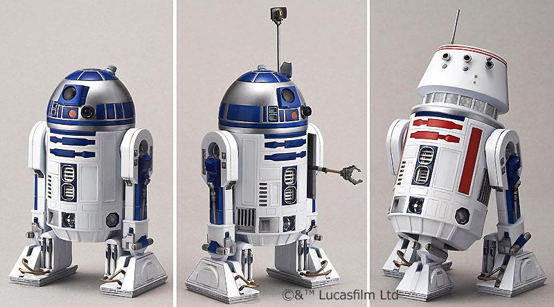 R2-D2 & R5-D4プラモデル(バンダイスターウォーズNo.0195963)商品画像_2