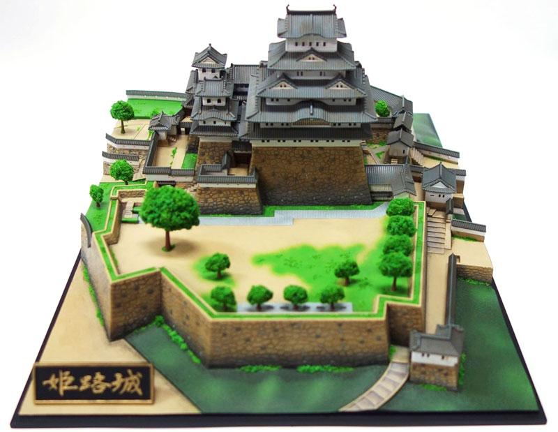 プレミアム 姫路城プラモデル(童友社日本の名城No.P1H)商品画像_3