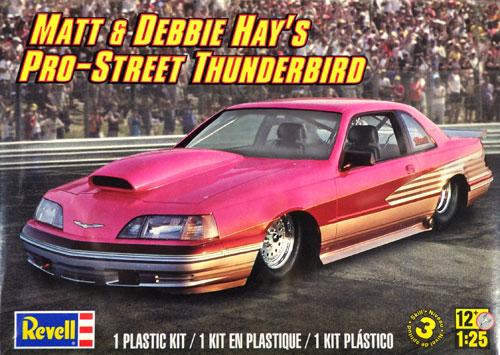マット&デビーヘイズ プロストリート サンダーバードプラモデル(レベルカーモデルNo.85-4356)商品画像