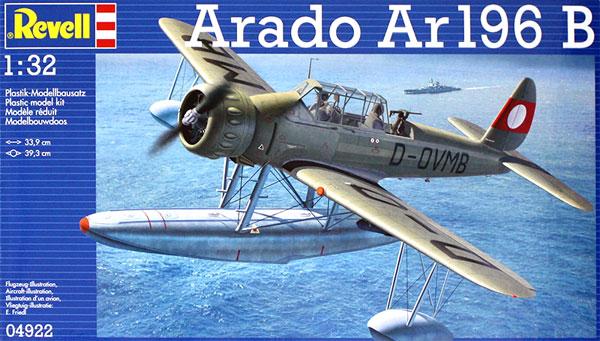 アラド Ar196Bプラモデル(レベル1/32 AircraftNo.04922)商品画像