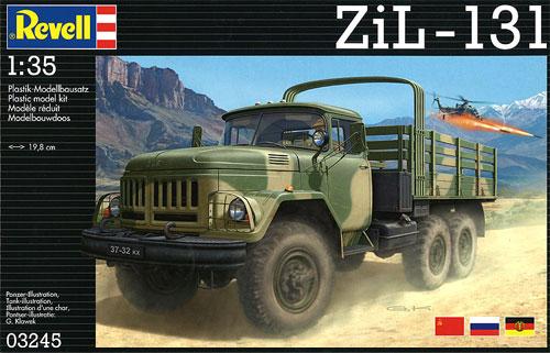 ZiL-131プラモデル(レベル1/35 ミリタリーNo.03245)商品画像