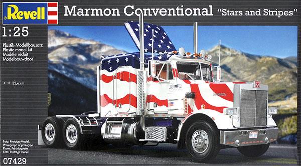 マーモン コンベンショナル (星条旗)プラモデル(レベルカーモデルNo.07429)商品画像