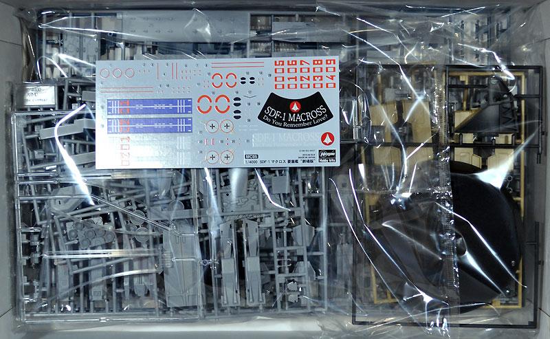 SDF-1 マクロス 要塞艦 劇場版プラモデル(ハセガワマクロスシリーズNo.MC005)商品画像_1