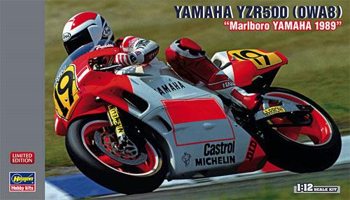 ヤマハ YZR500 (OWA8) マールボロ ヤマハ 1989プラモデル(ハセガワ1/12 バイクシリーズNo.21712)商品画像