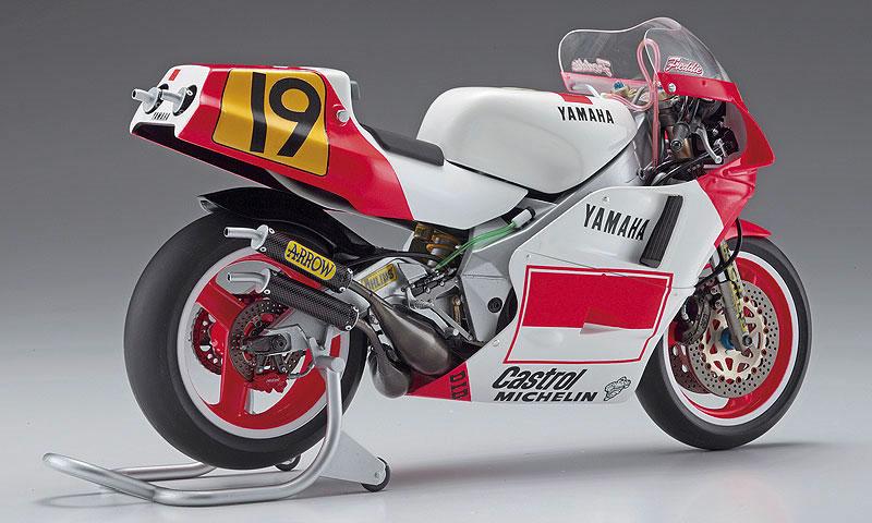 ヤマハ YZR500 (OWA8) マールボロ ヤマハ 1989プラモデル(ハセガワ1/12 バイクシリーズNo.21712)商品画像_3