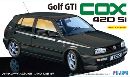 フォルクスワーゲン ゴルフ GTI COX 420Si 16Vプラモデル(フジミ1/24 リアルスポーツカー シリーズNo.047)商品画像