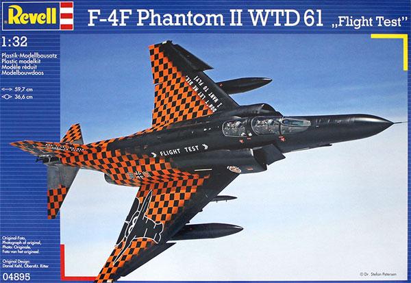 F-4F ファントム 2 WTD61 フライトテストプラモデル(レベル1/32 AircraftNo.04895)商品画像