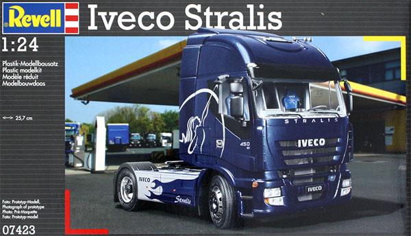 イヴェコ Stralisプラモデル(レベルカーモデルNo.07423)商品画像