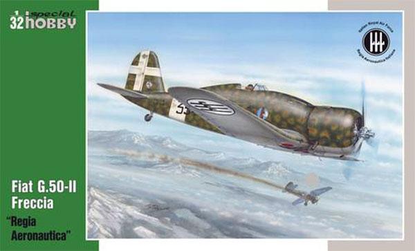 フィアット G.50-2 フレッチア イタリア空軍プラモデル(スペシャルホビー1/32 エアクラフトNo.32061)商品画像