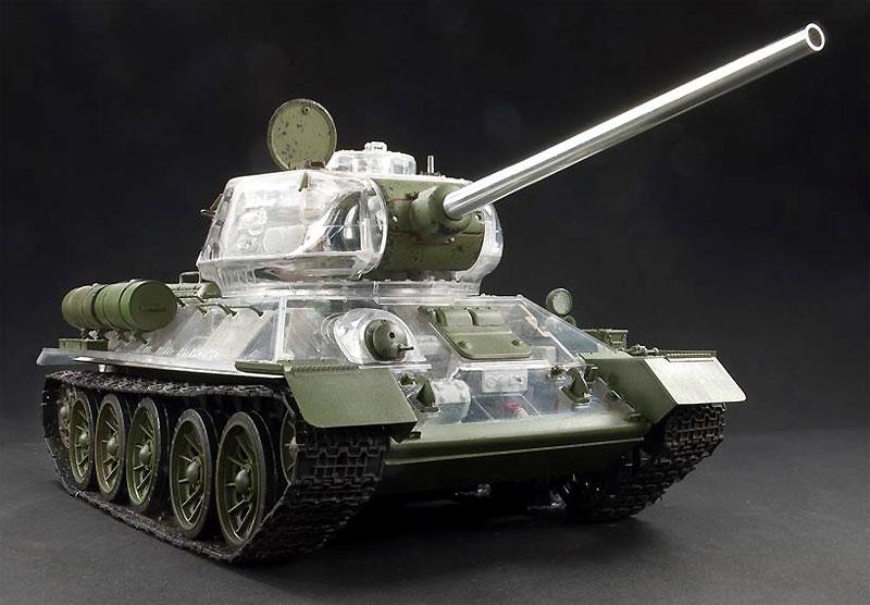 T-34/85 1944 第183工場製 フルインテリアキット クリア成型砲塔・車体上部付プラモデル(AFV CLUB1/35 AFV シリーズNo.AF35S55)商品画像_2