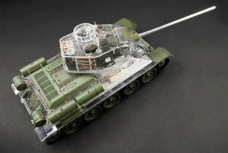 T-34/85 1944 第183工場製 フルインテリアキット クリア成型砲塔・車体上部付プラモデル(AFV CLUB1/35 AFV シリーズNo.AF35S55)商品画像_3