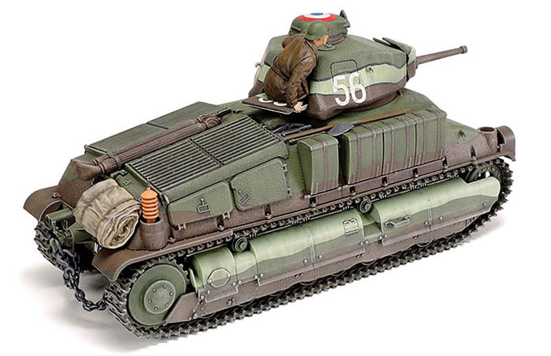 フランス中戦車 ソミュア S35プラモデル(タミヤ1/35 ミリタリーミニチュアシリーズNo.344)商品画像_3