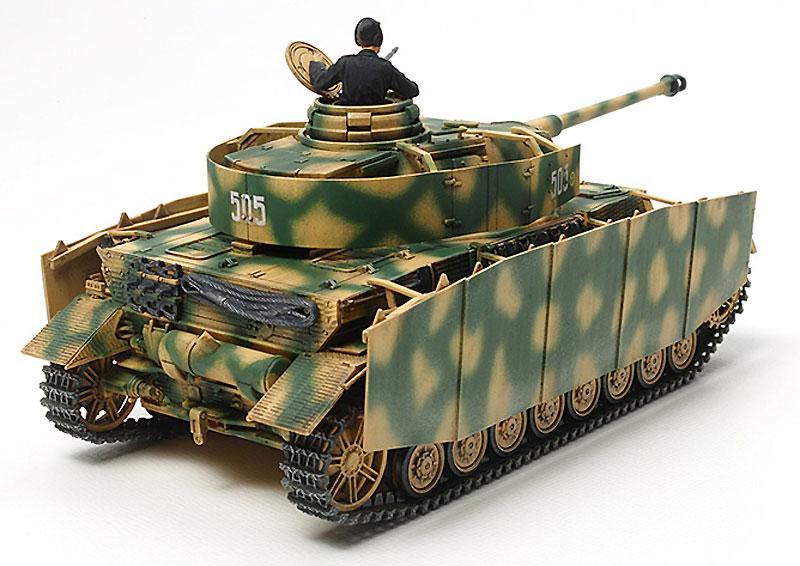 ドイツ 4号戦車 H型 (後期型)プラモデル(タミヤ1/48 ミリタリーミニチュアシリーズNo.084)商品画像_2