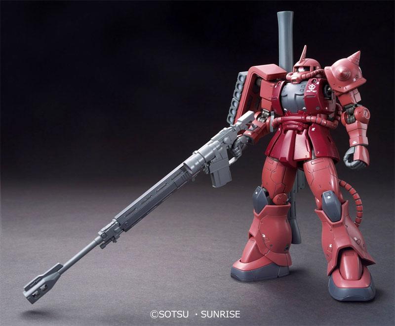 MS-06S シャア専用 ザク 2プラモデル(バンダイHG ジ・オリジンNo.001)商品画像_2