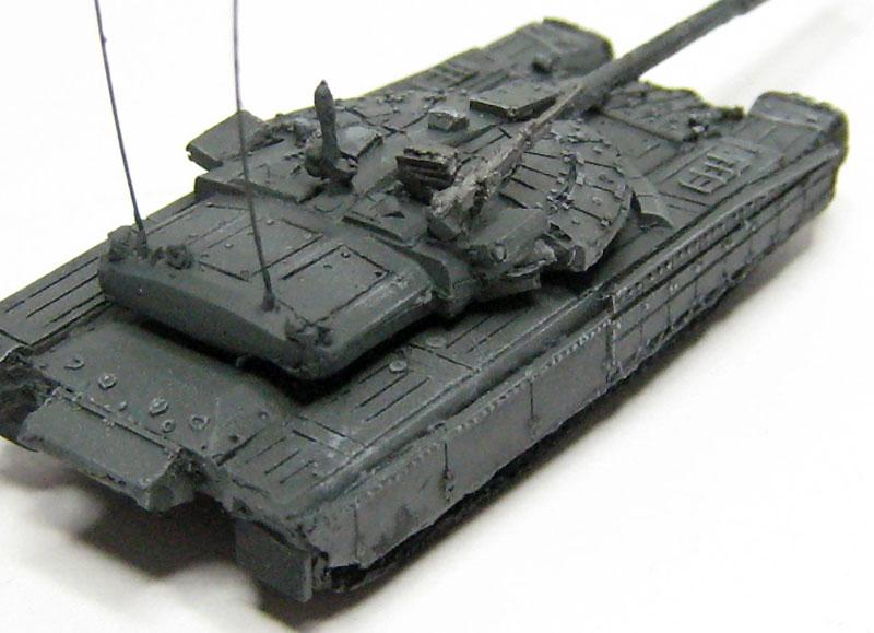 ロシア試作戦車 チョルヌイオリョールレジン(マツオカステン1/144 オリジナルレジンキャストキット (AFV)No.MTUAFV-078)商品画像_3